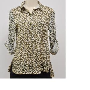 Anthropologie Holding Horses Arabel Buttondown Top